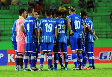 FT: Persiba 0-2 Persipura