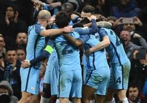 <strong>Manchester City 5-3 Monaco (2017)</strong>| <br> El equipo dirigido por Pep Guardiola se sobrepuso, gracias a un inspirado Sergio Agüero, a una desventaja de 1-2 y 2-3. Los 'citizens' lograron tres tantos en los últimos 20 minutos.