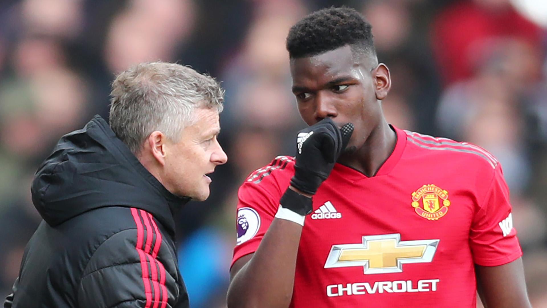 Manchester United - Pogba va rester selon Solskjaer