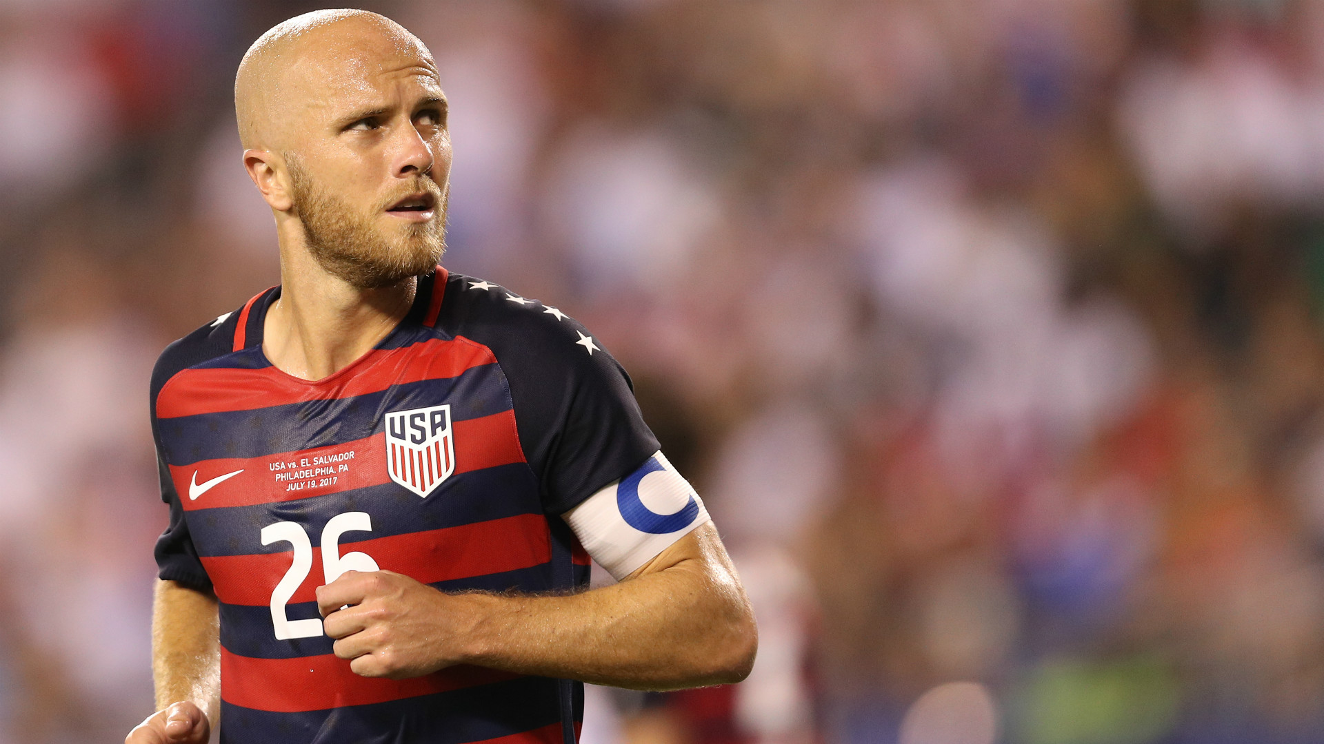 Michael Bradley USA Gold Cup