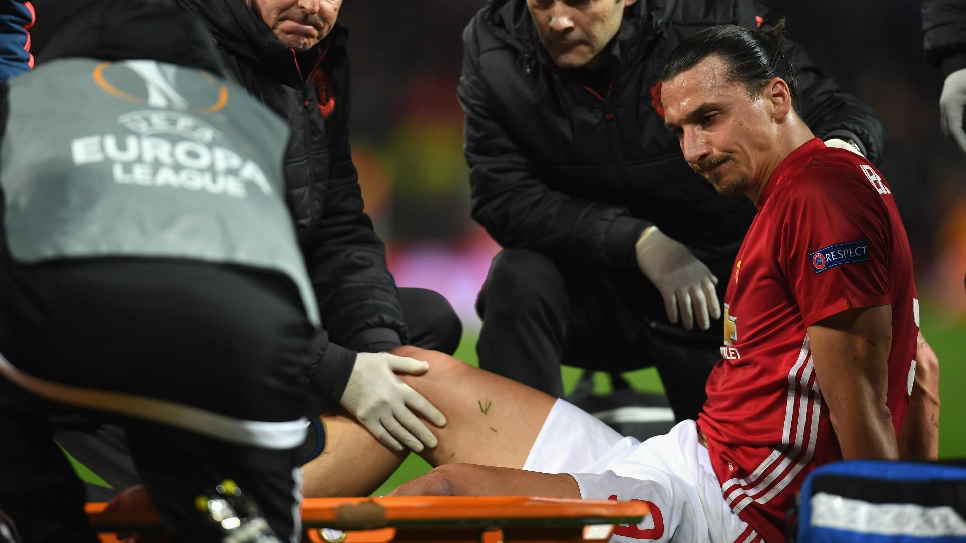 Jose Mourinho Concerned For Zlatan Ibrahimovic, Marcos Rojo Injuries