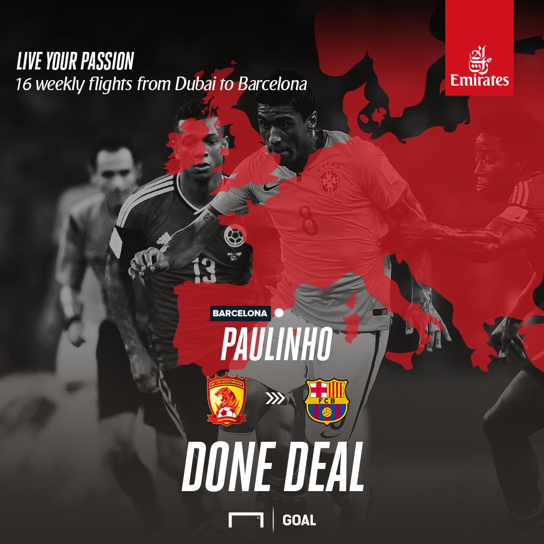 Emirates: Paulinho - EN