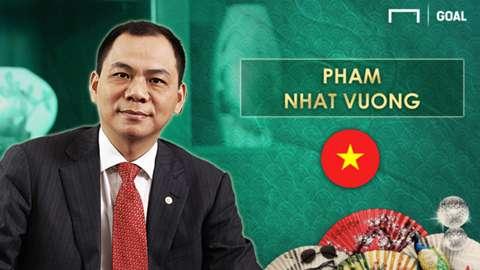 Pham Nhat Vuong 11 Crazy Rich Asians in Football