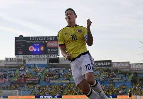Kolombia Pesta Gol, James Cemerlang