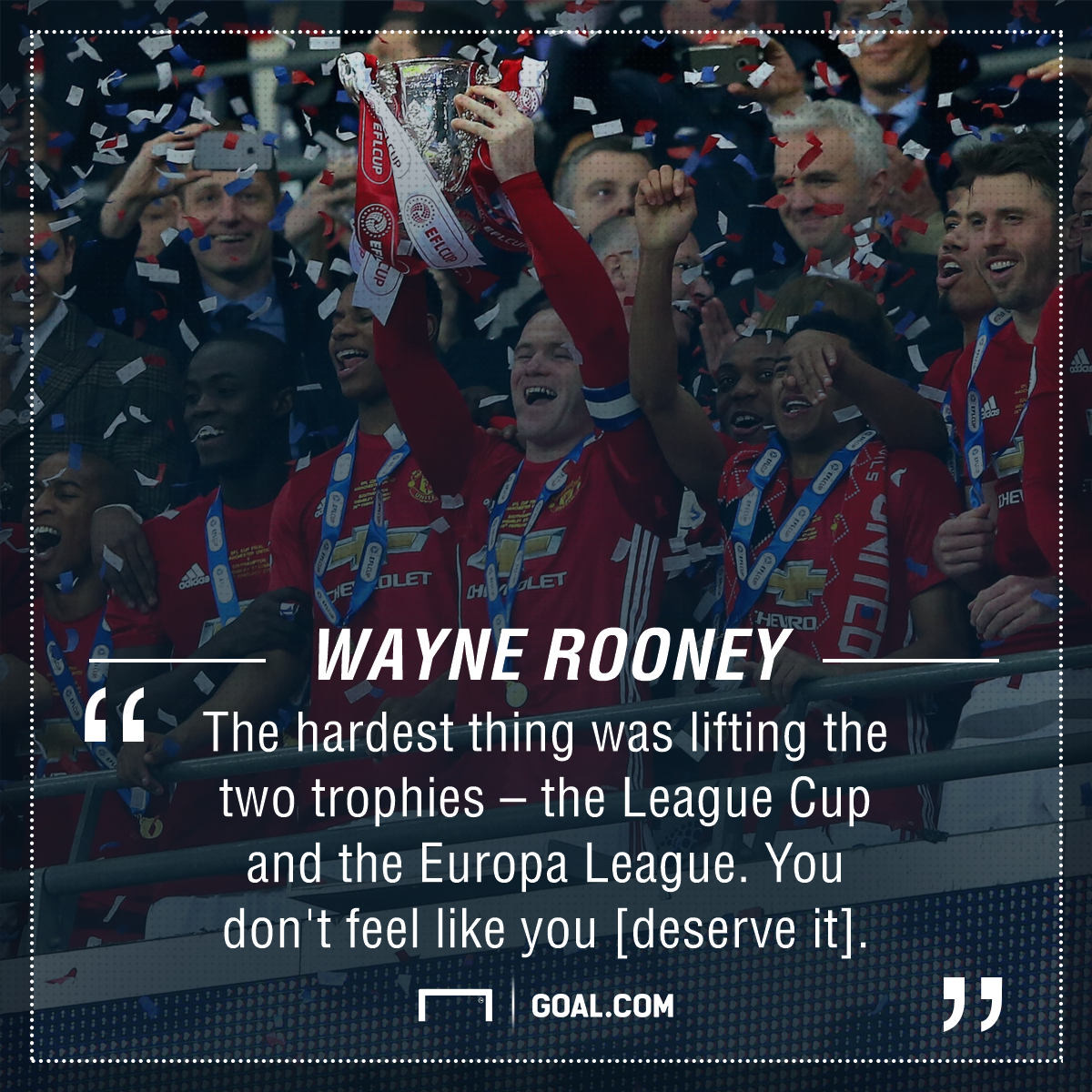 Wayne Rooney Manchester United trophies