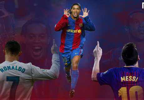 ¿Messi o CR7? Ronaldinho tenía más talento que ambos