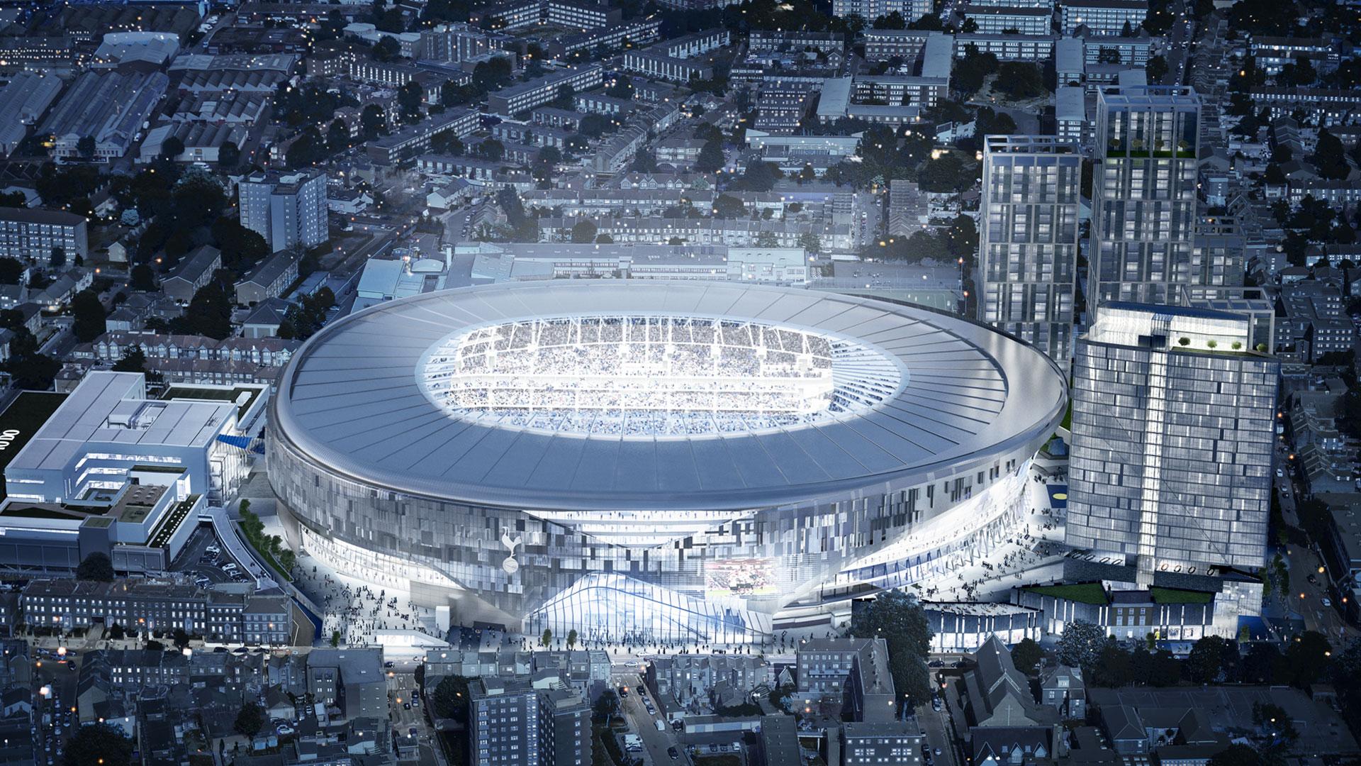 New Spurs stadium