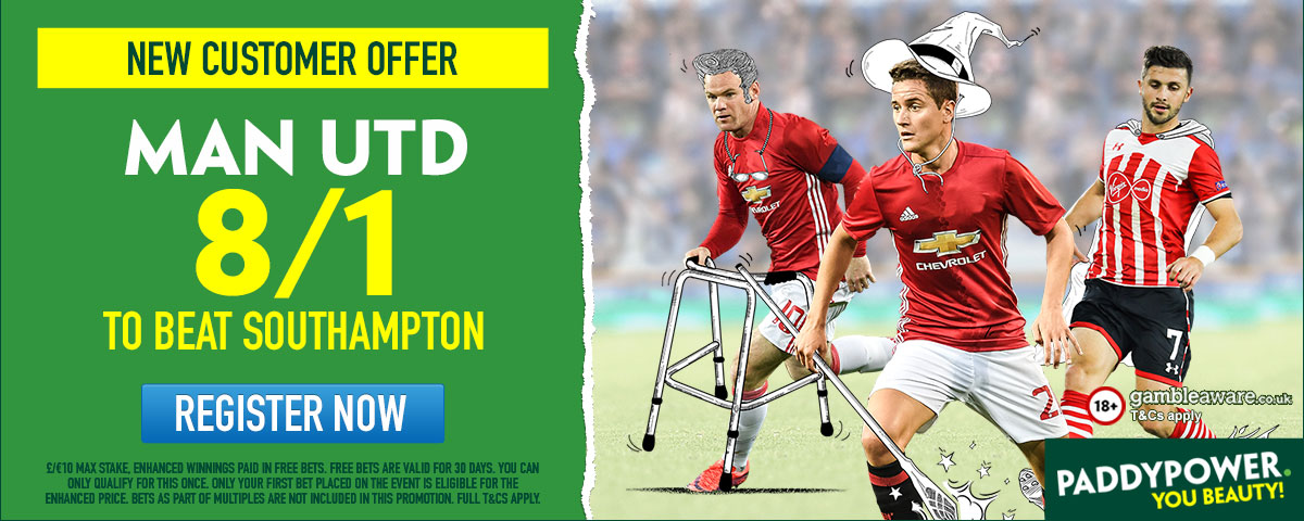 GFX Southampton Manchester United enhanced betting