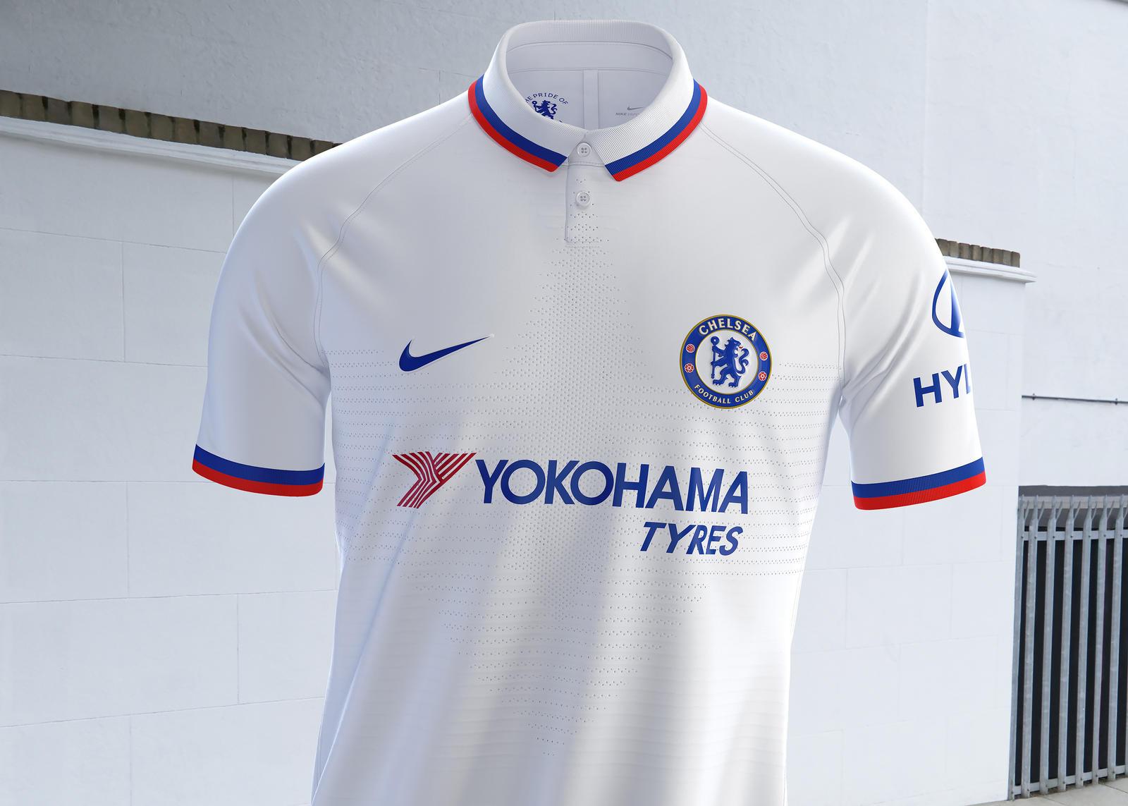 Premier League - Chelsea dévoile son maillot extérieur pour la saison 2019-2020