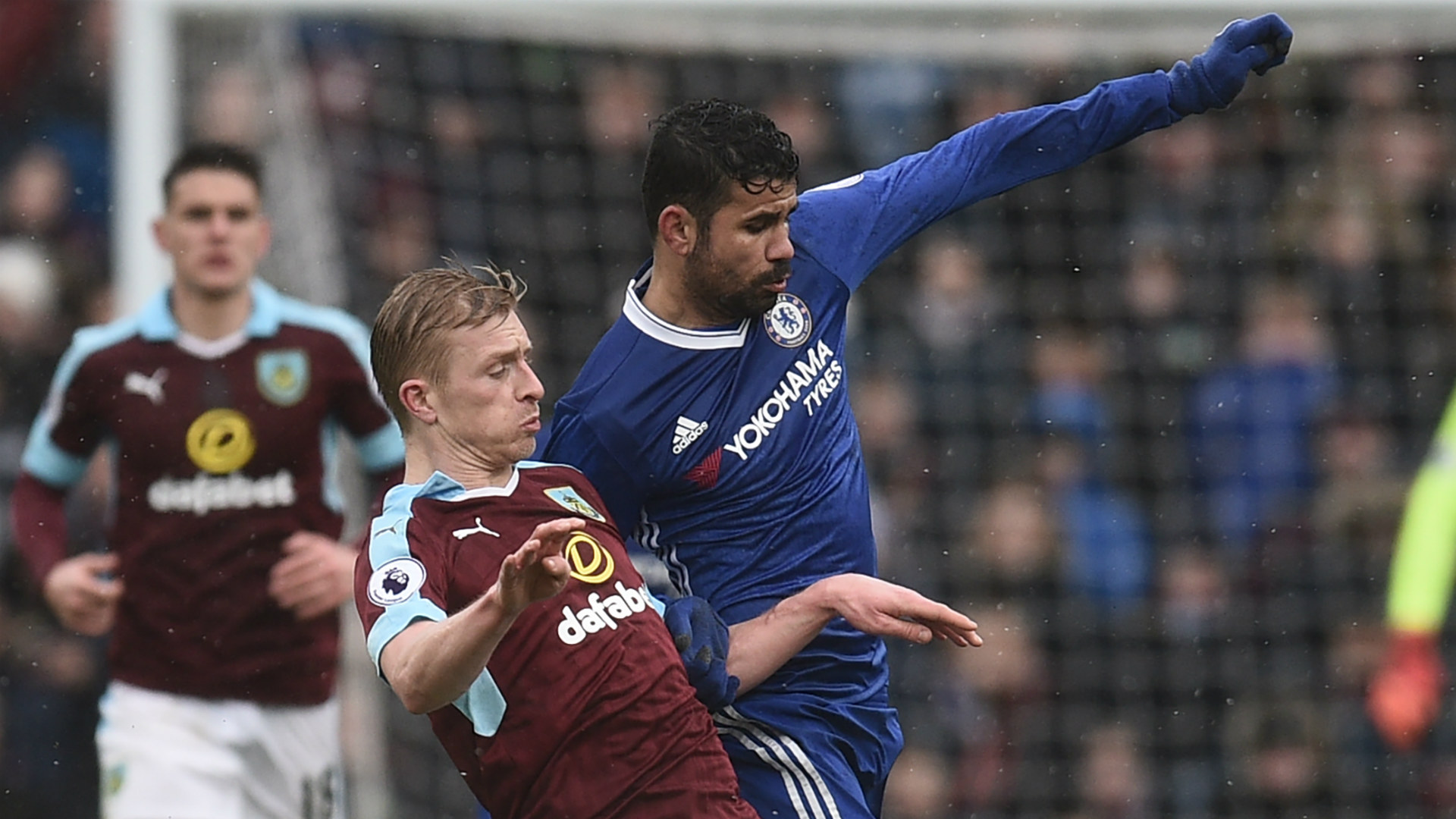 Ben Mee Burnley Diego Costa Chelsea