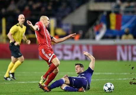 Bayern Menang, Tapi Thiago Dan Robben Cedera
