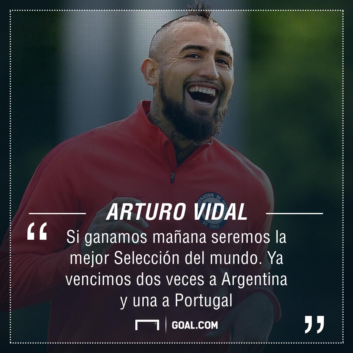 Afiche Arturo Vidal
