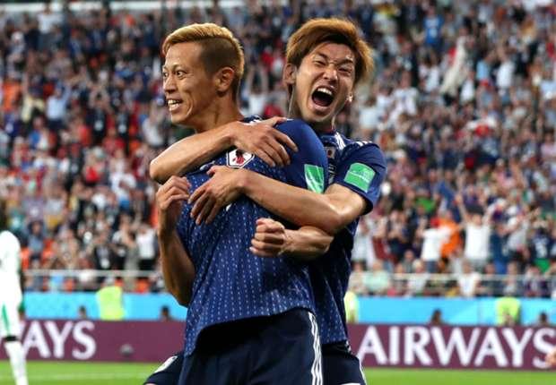 ผลการค้นหารูปภาพสำหรับ ฮอนดะซูเปอร์ซับ! ญี่ปุ่นไล่เจ๊าเซเนกัลสองครั้ง จบ 2-2