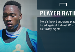 Goal, takes a look at how Mamelodi Sundowns and Bidvest Wits players performed in Saturday's mouthwatering clash at the Loftus Versfeld Stadium, starting with the African champions...