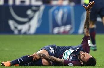 Brazil coach Tite sends 'big hug' to injured PSG star Dani Alves