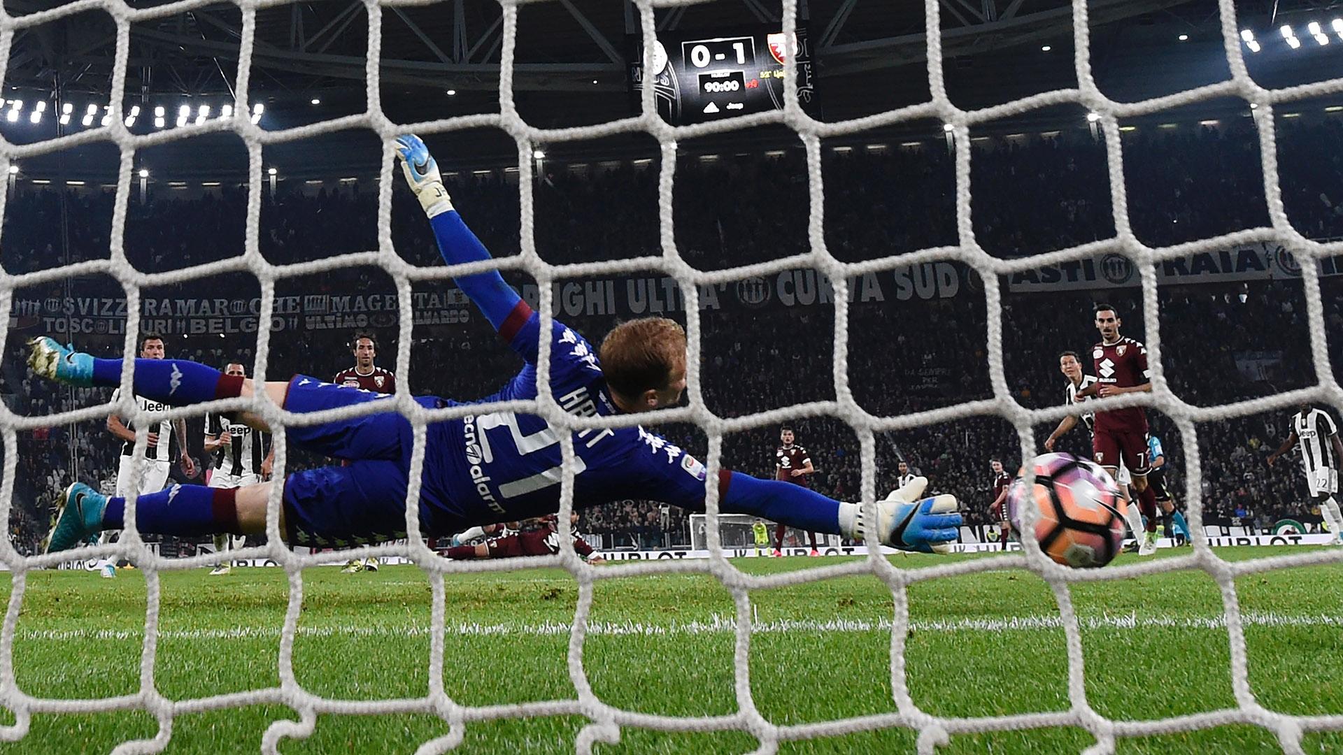 Hart Higuain Juventus Torino Serie A