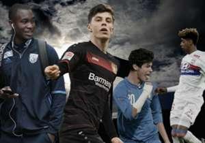 Er lopen veel talenten rond op de Europese velden. Goal heeft de jongste spelers die actief zijn in de topcompetities op een rij gezet.