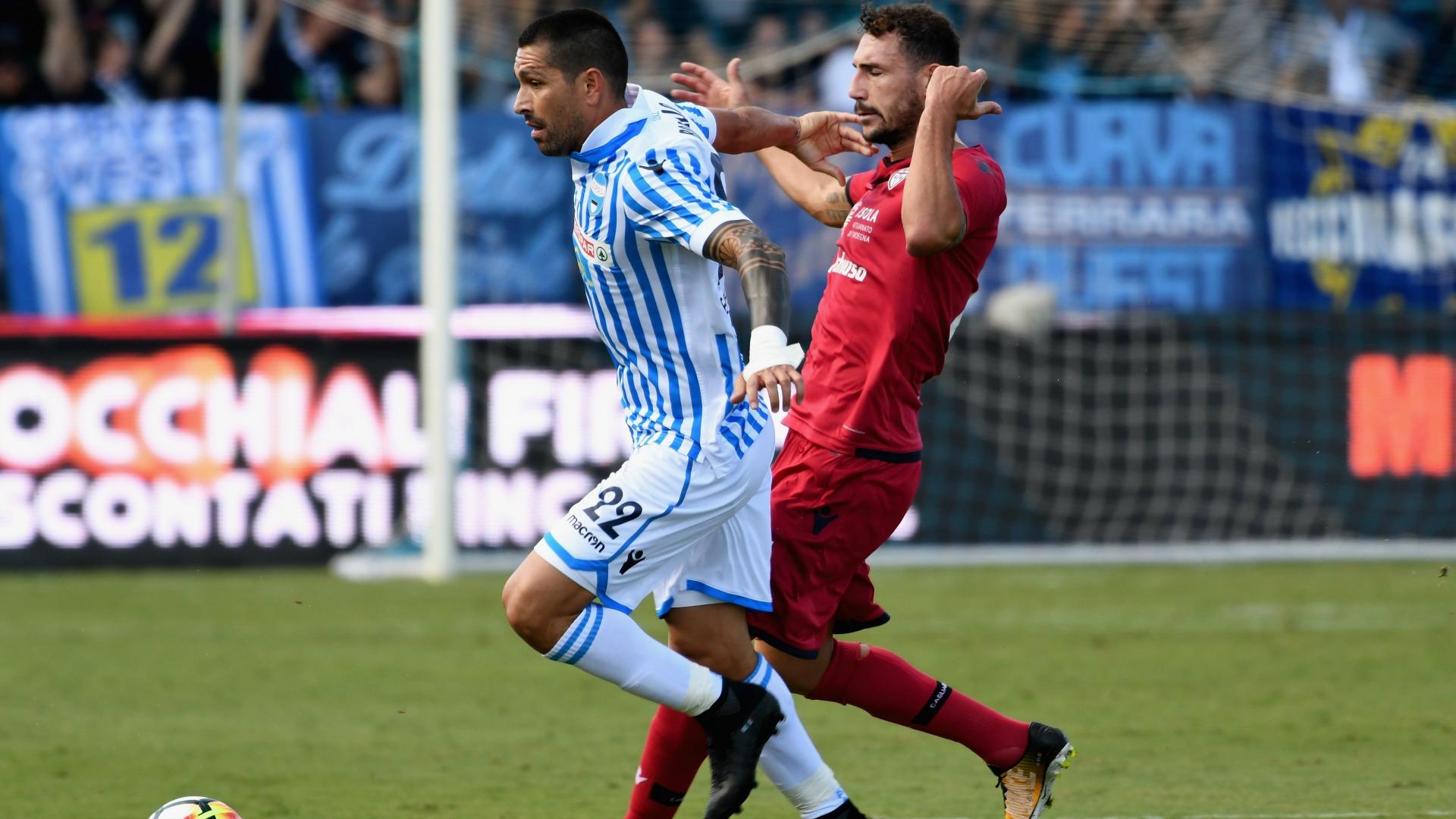 Marco Borriello SPAL Cagliari Serie A