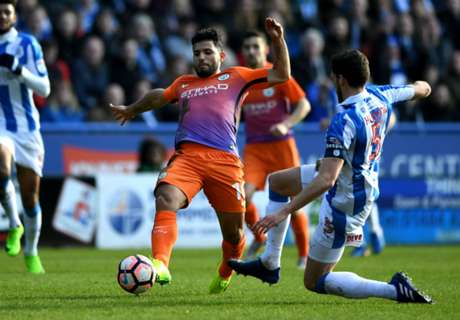 Huddersfield hold Man City in FA Cup