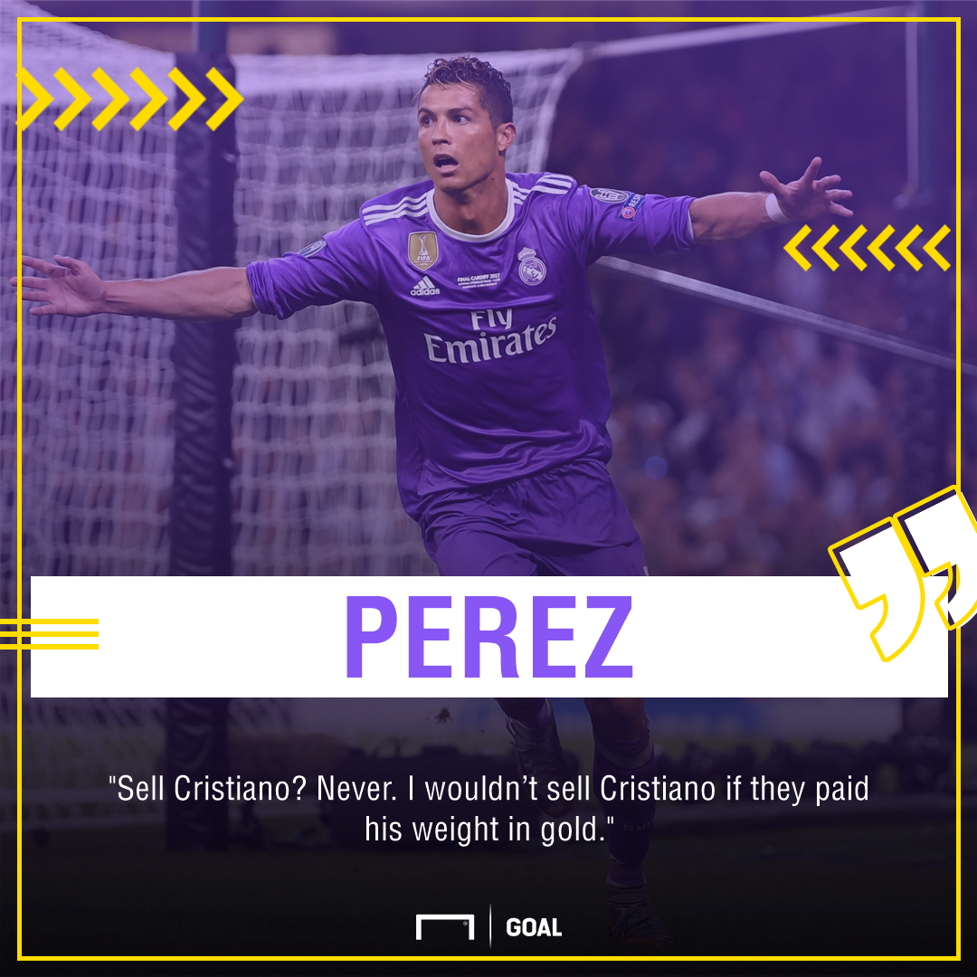 Cristiano Ronaldo Florentio Perez Real Madrid no sale