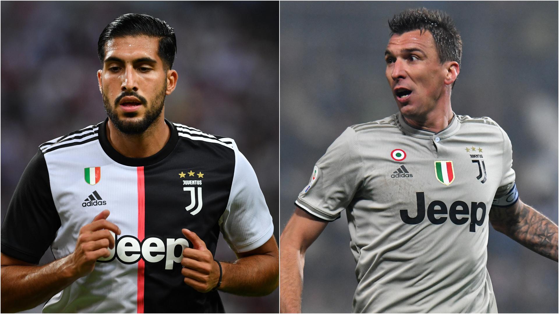 Pas d'Emre Can ni de Mandzukic dans la liste de la Juve pour la Ligue des champions