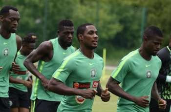Nigeria train ahead of Iceland showdown