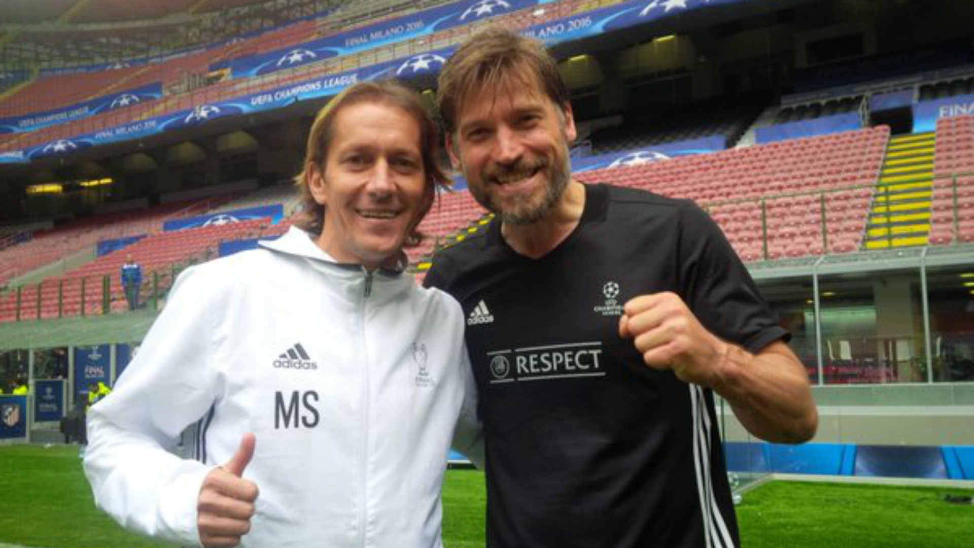 Game of Thrones Nikolaj Coster-Waldau Jamie Lannister Real Madrid