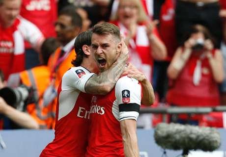 Arsenal voorkomt dubbel voor Chelsea