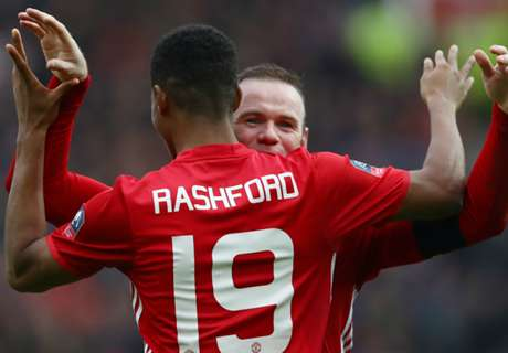 Rashford reveals Rooney's special talk