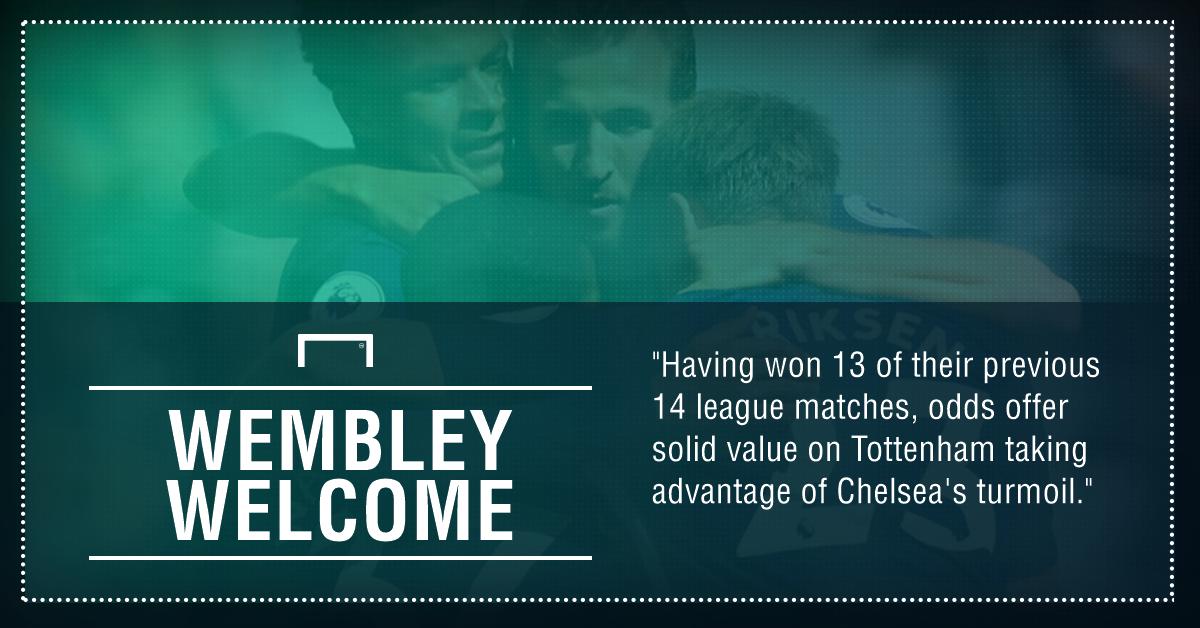 GFX Tottenham Chelsea betting