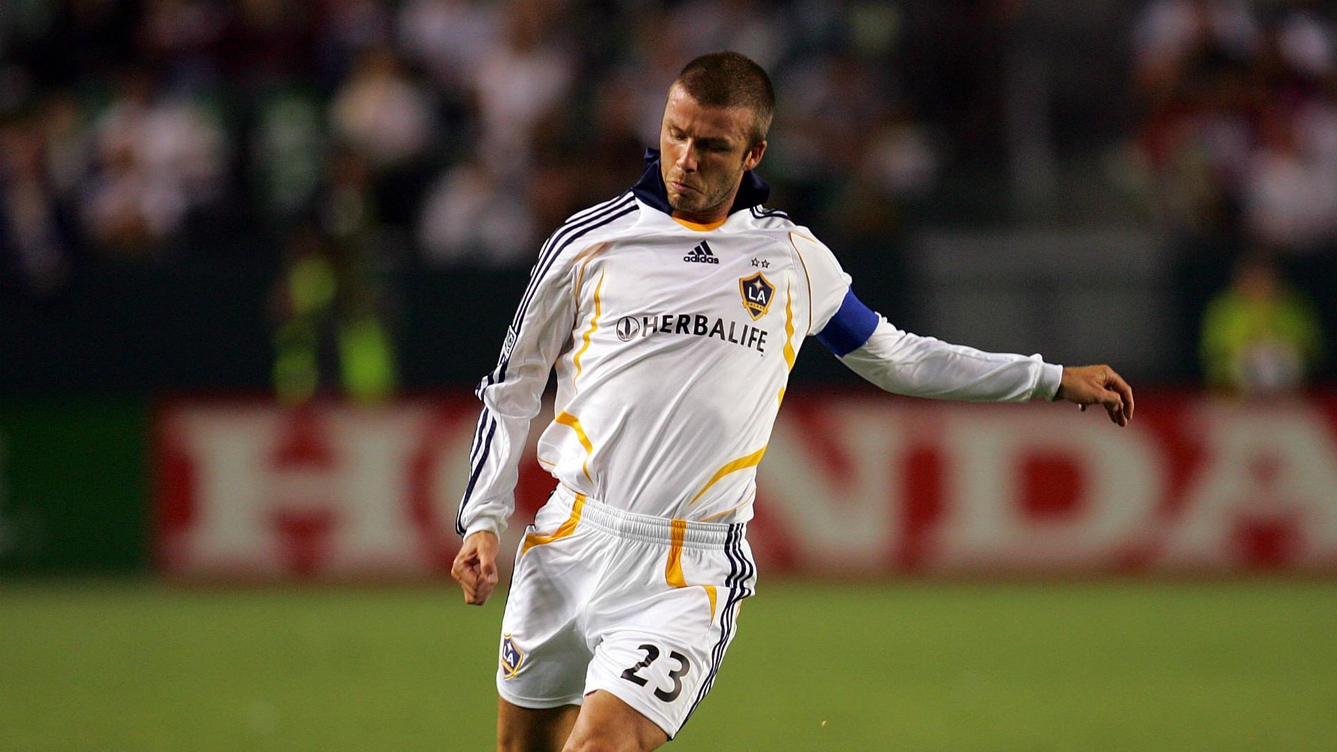 David Beckham LA Galaxy MLS