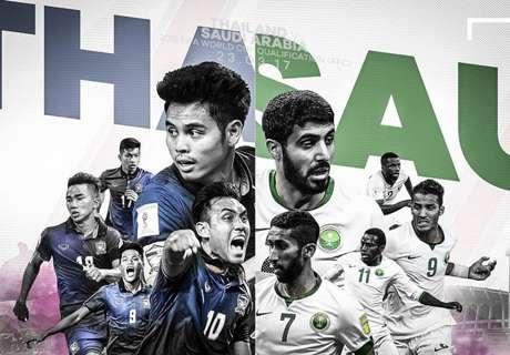 ฟุตบอลโลก 2018 รอบคัดเลือก : ไทย - ซาอุดิอาระเบีย