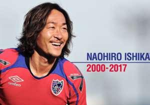 8月2日に今シーズン限りでの現役引退を発表したFC東京MF石川直宏。果たして彼の18年間のプロキャリアはどんなものだったのだろうか。金髪をなびかせて疾走していた若かりし頃から、数々の栄光の日々、そして苦闘のリハビリまで。エピソード入りのキャプションとともに戦いの歴史をしっかりと振り返っていこう。<br><br> ©新井賢一