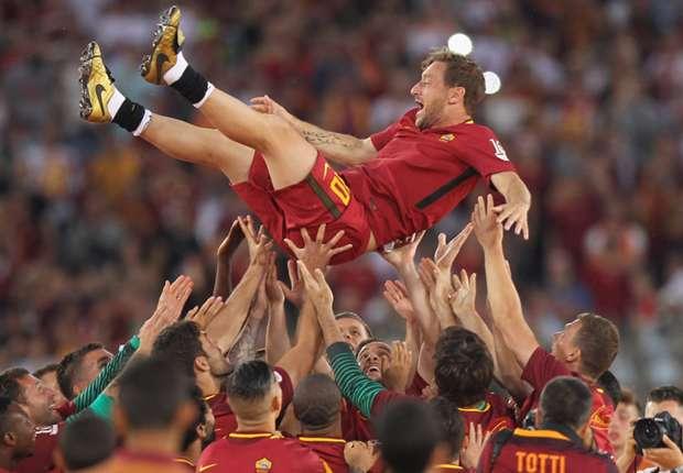 Roma-Genoa (3-2), adieux réussis pour Totti avec la Roma
