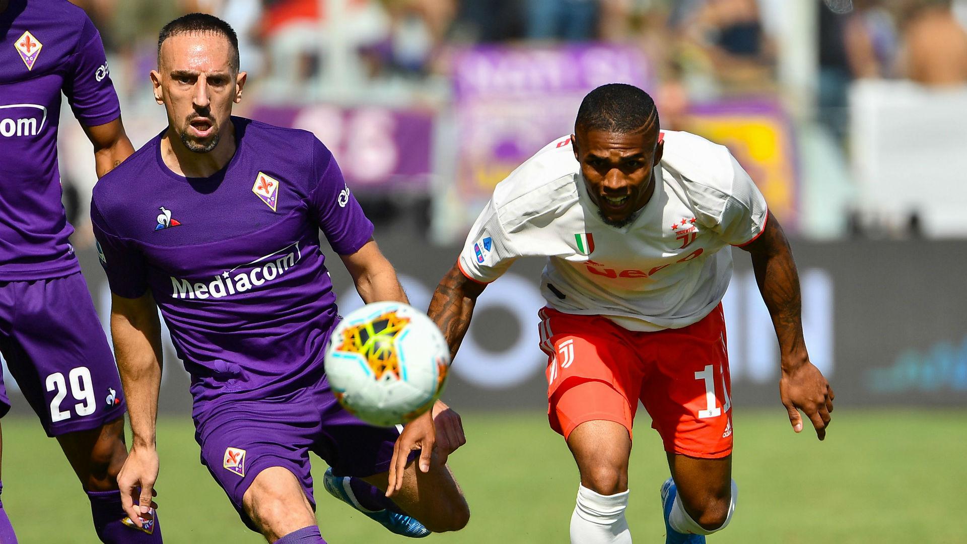 """Fiorentina - Franck Ribéry """"content"""" de ses débuts en Serie A"""