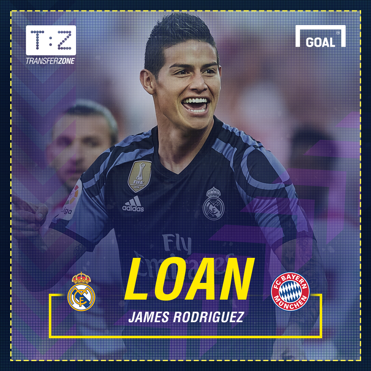 Bayern Munich signs James Rodriguez from Real Madrid