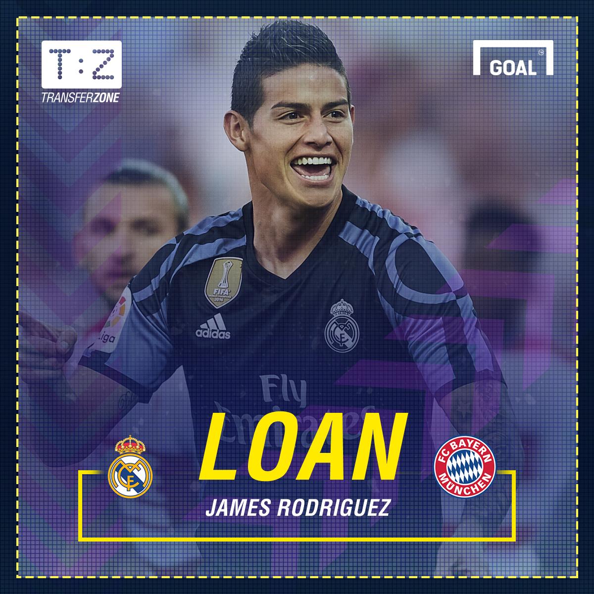 James Rodriguez Bayern Munich GFX
