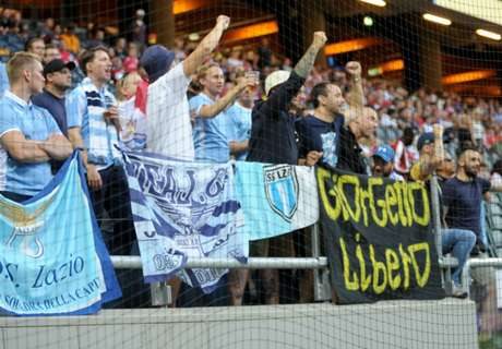 Lazio ultras tell female fans to stay away