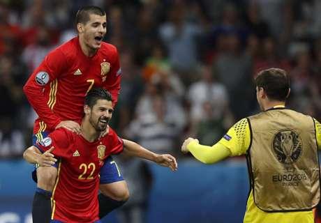 '대회 첫 3득점' 스페인, 우승후보 위용 보이다