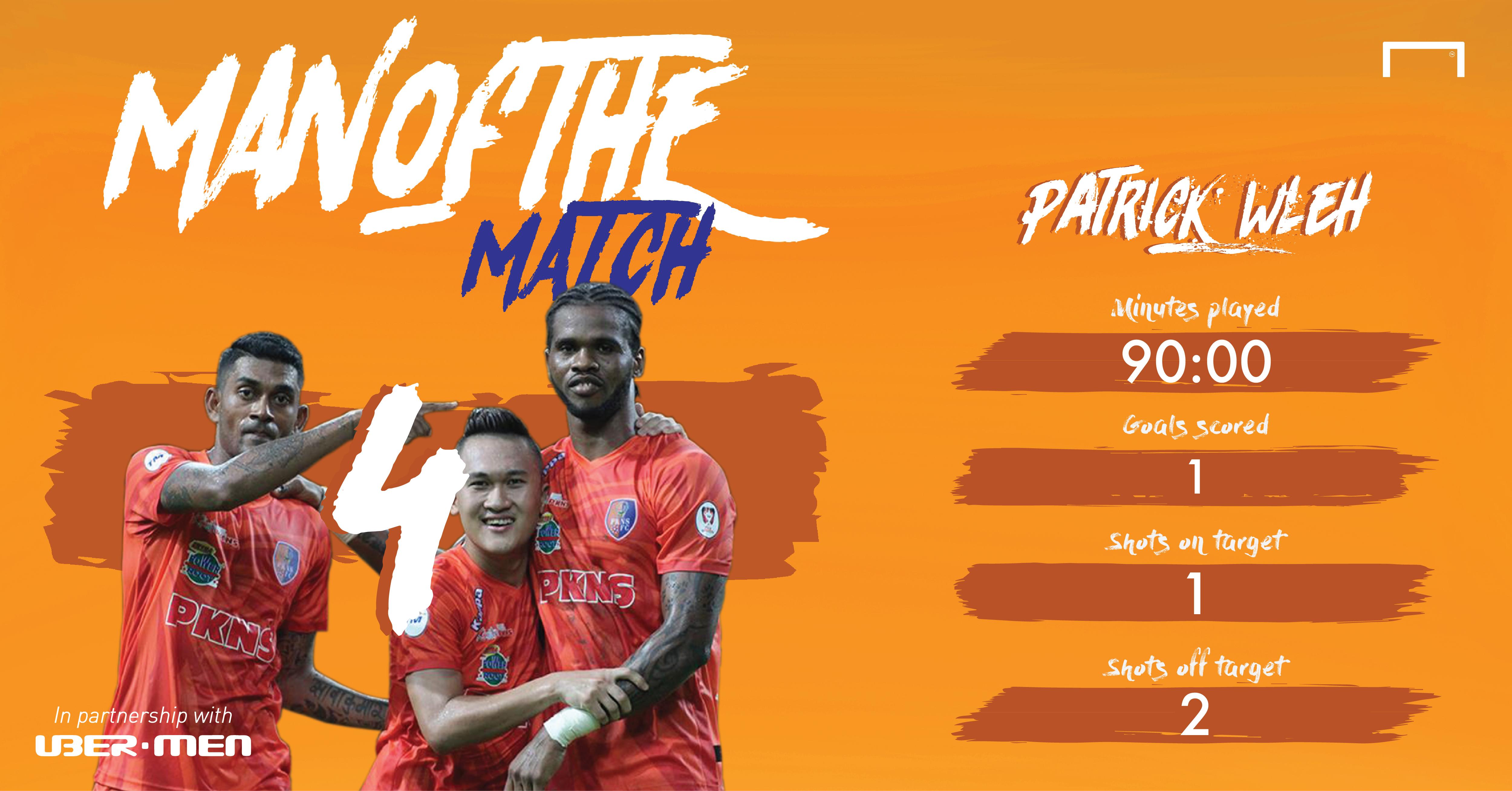 Selangor vs PKNS MOTM