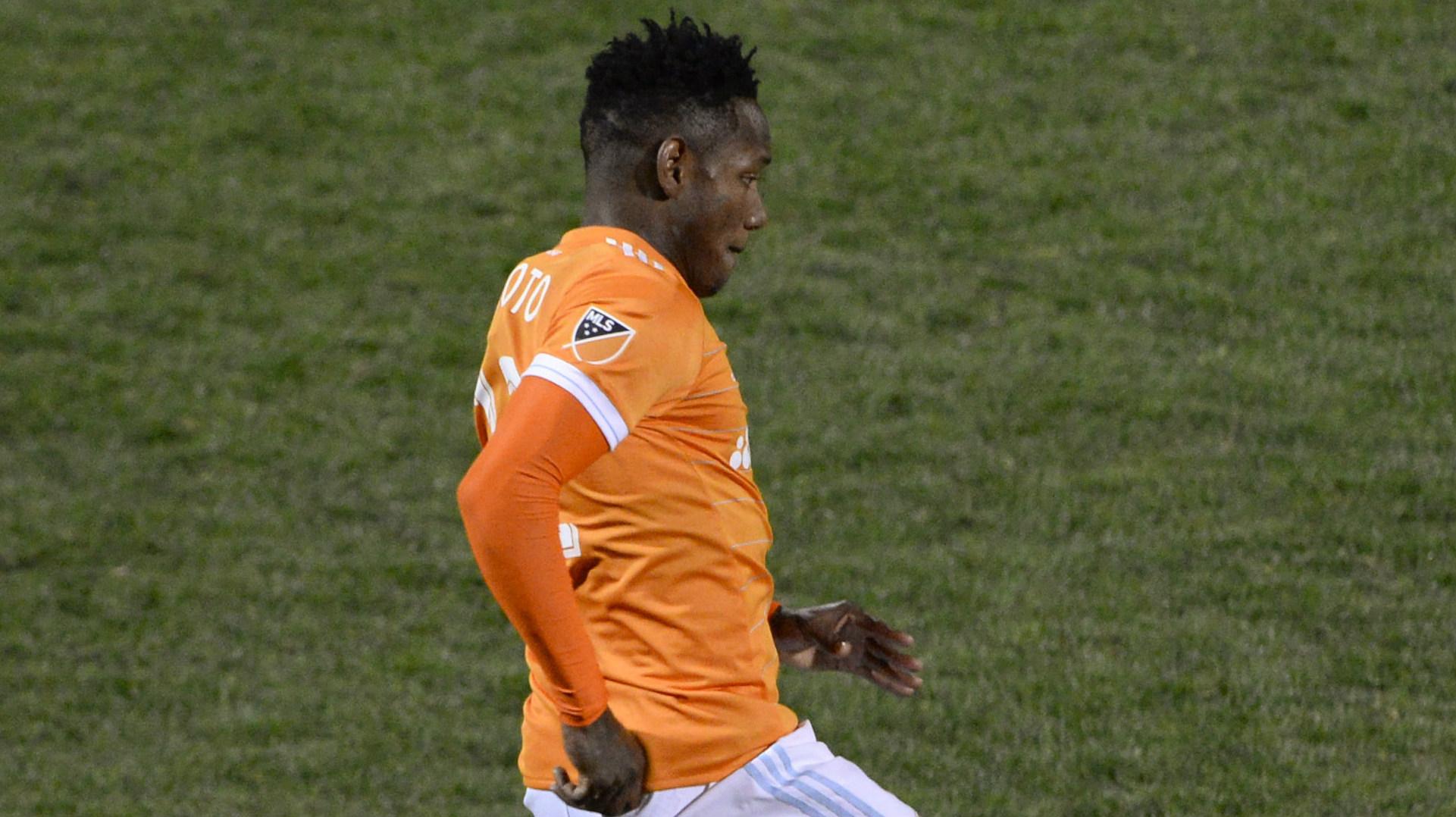 Romell Quioto Houston Dynamo MLS