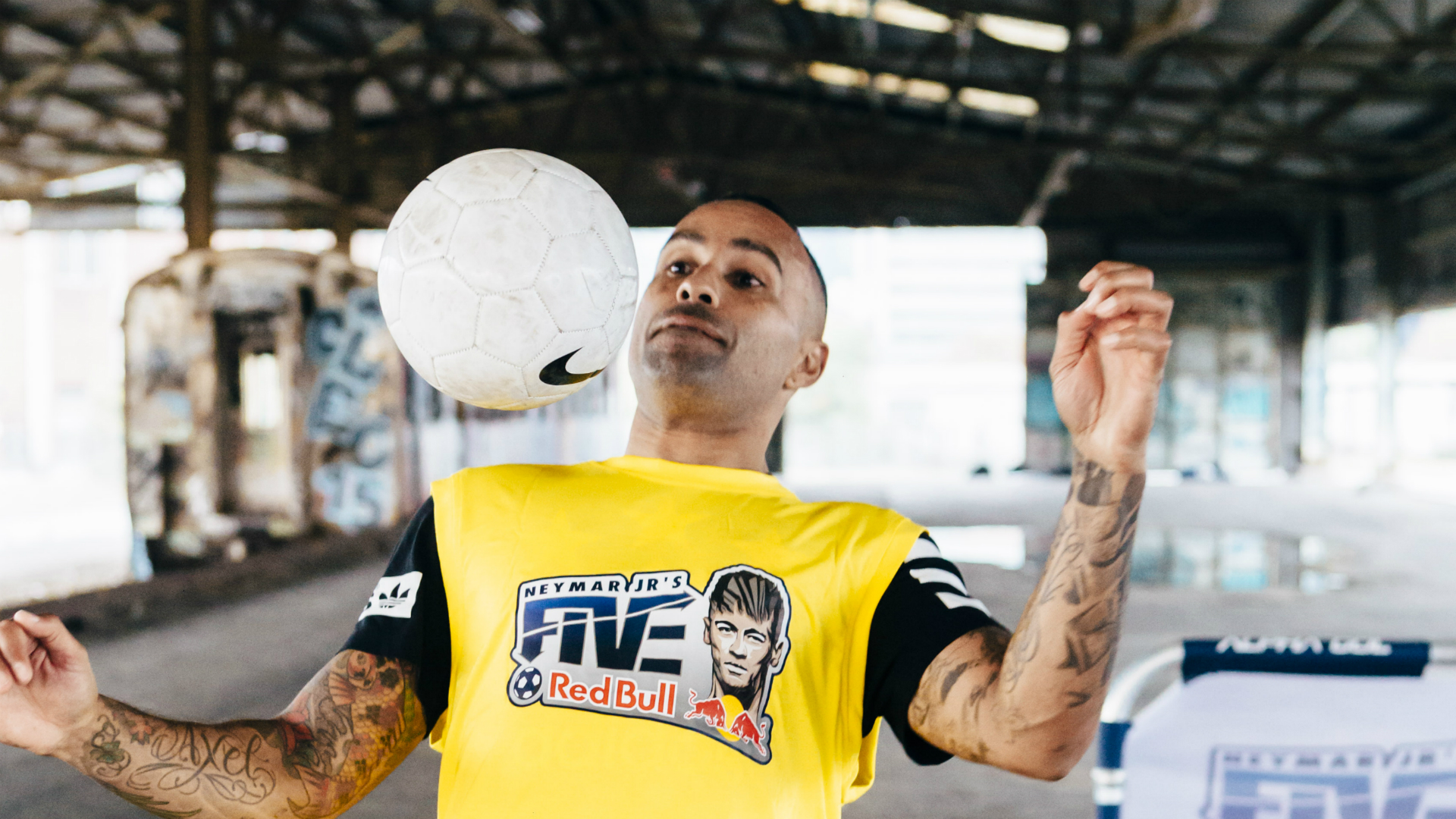 Archie Thompson Neymar Jr's Five