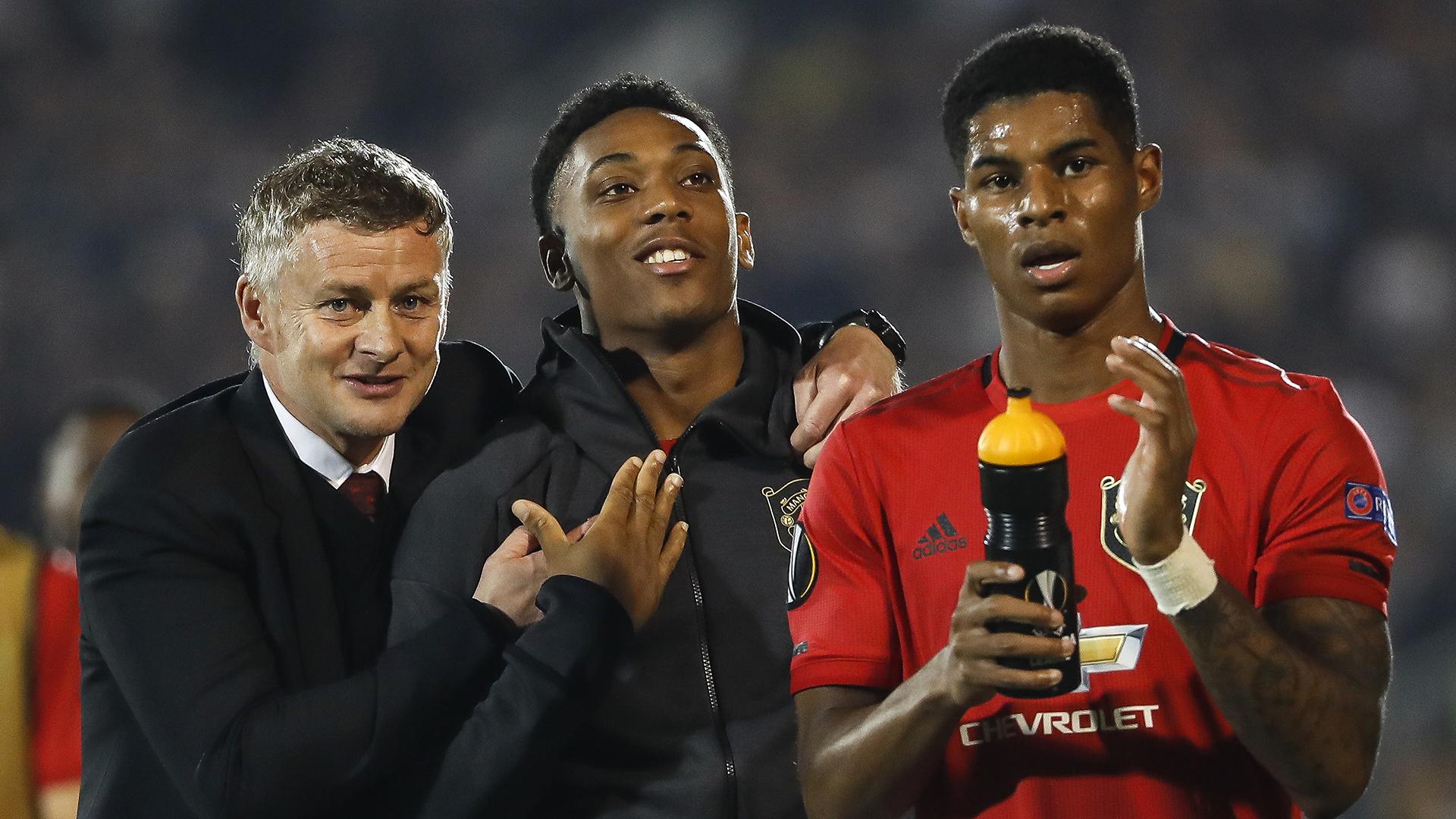 'Martial is vital for Man Utd & Rashford needs time' - Solskjaer has faith in frontmen