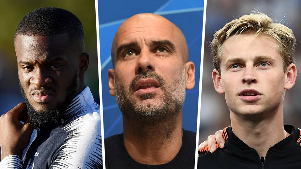 Ndombele, Guardiola, De Jong