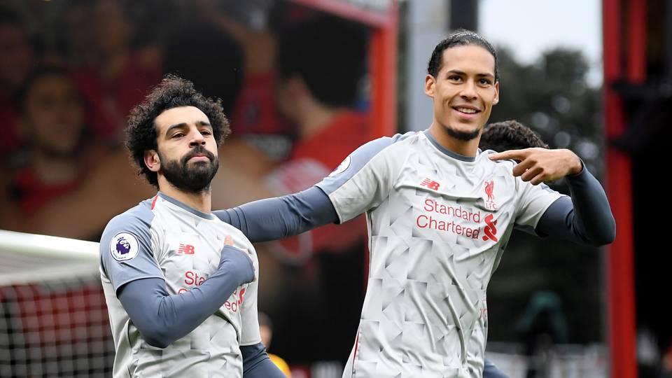 Mohamed Salah Liverpool Bournemouth