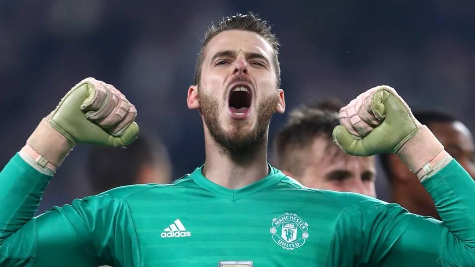 David de Gea, Man Utd
