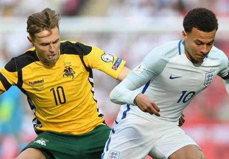 AO VIVO: Inglaterra 1 x 0 Lituânia