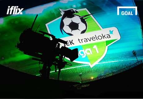 Jadwal TV Siaran Langsung Liga 1 Hari Ini Persembahan iflix