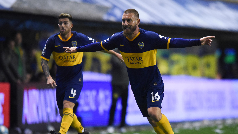 03d9416a6a26 Daniele De Rossi claims win on league debut with Boca Juniors ...