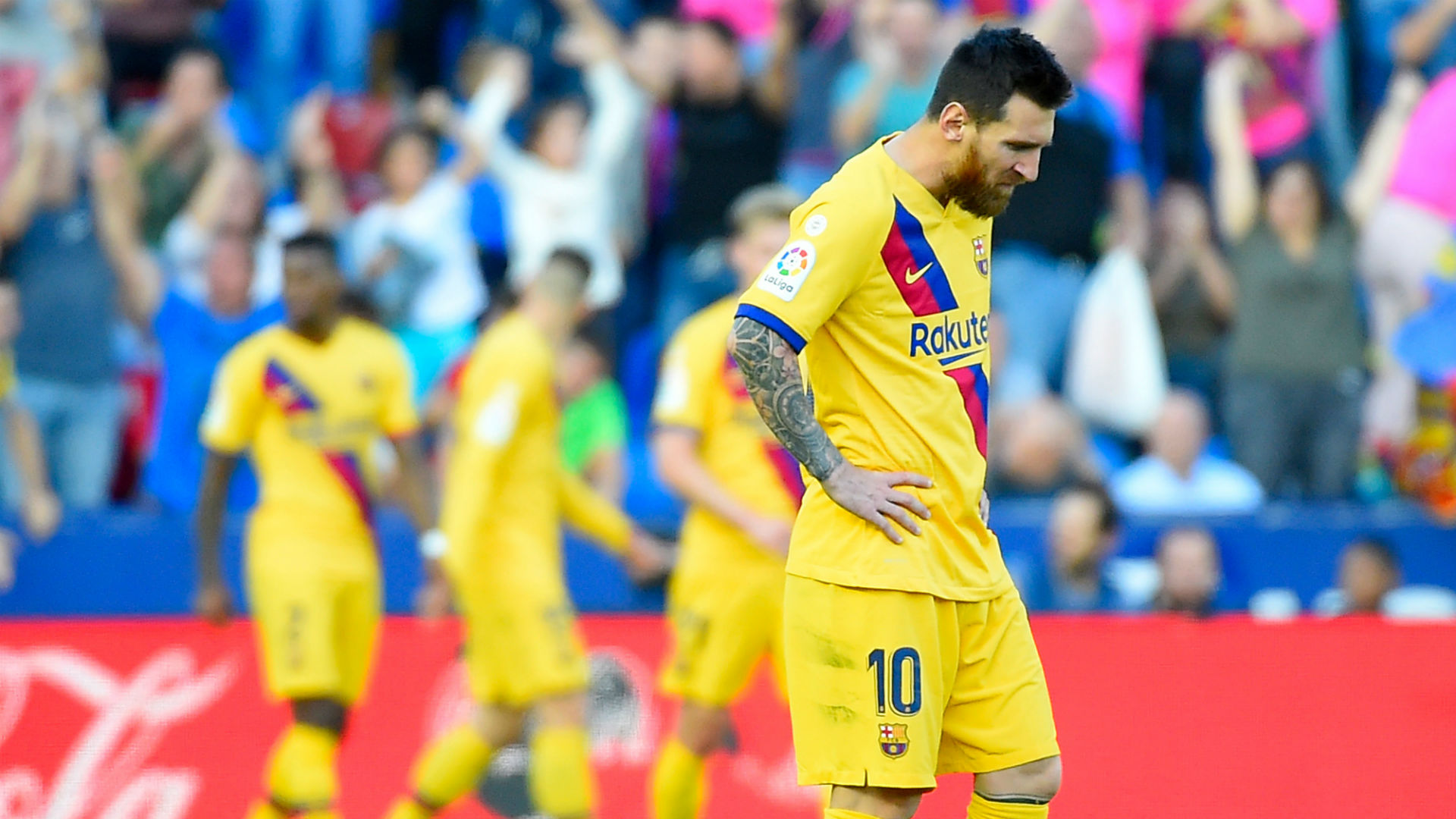 'This happened at Atletico too' - Griezmann not worried by slow Barca start after quiet performance against Levante